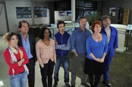 photo 9/24 - Philippe Caroit, Véronique Genest, Stéphane De Groodt, - Merci Patron ! - © TF1