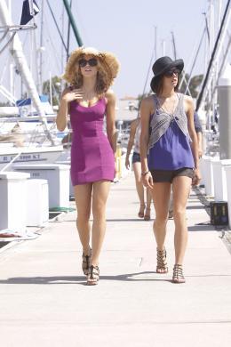 photo 9/33 - AnnaLynne McCord, Jessica Stroup - 90210 - Nouvelle génération - Saison 2 - © Paramount