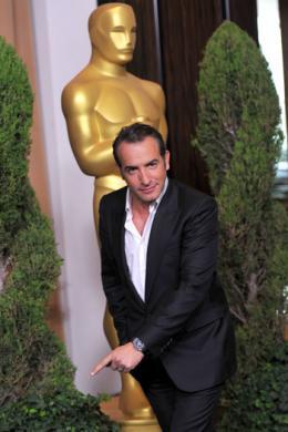 photo 126/126 - Jean Dujardin - Les nommés aux Oscars 2012 - The Artist - © Getty Image