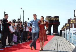 photo 56/135 - Salma Hayek et Antonio Banderas - Présentation du Chat Potté - Cannes 11 mai 2011 - Le Chat Potté - © Lucian Capellaro/Paramount Pictures