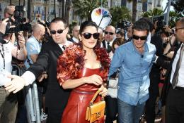 photo 42/135 - Salma Hayek et Antonio Banderas - Présentation du Chat Potté - Cannes 11 mai 2011 - Le Chat Potté - © Lucian Capellaro/Paramount Pictures