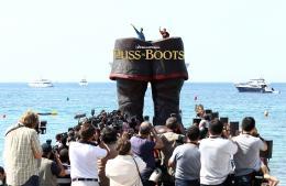 photo 46/135 - Salma Hayek et Antonio Banderas - Présentation du Chat Potté - Cannes 11 mai 2011 - Le Chat Potté - © Lucian Capellaro/Paramount Pictures