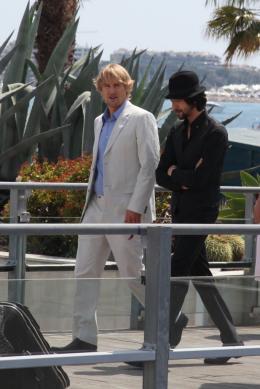 photo 27/41 - Owen Wilson et Adrien Brody - Présentation de Minuit à Paris - 11 mai 2011 - Minuit à Paris - © Isabelle Vautier pour CommeAuCinema - Cannes 2011