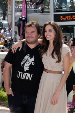 photo 38/80 - Angelina Jolie et Jack Black - Présentation de Kung Fu Panda 2 - 12 mai 2011 - Kung Fu Panda 2 - © Isabelle Vautier pour CommeAuCinema - Cannes 2011