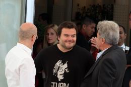 photo 47/80 - Jack Black, Dustin Hoffman - Présentation de Kung Fu Panda 2 - 12 mai 2011 - Kung Fu Panda 2 - © Isabelle Vautier pour CommeAuCinema - Cannes 2011