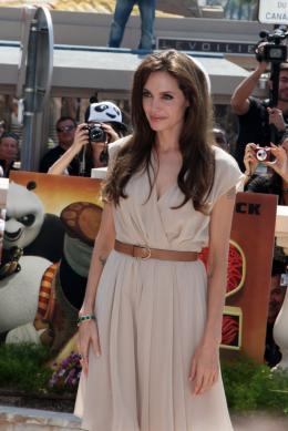 photo 32/80 - Angelina Jolie - Présentation de Kung Fu Panda 2 - 12 mai 2011 - Kung Fu Panda 2 - © Isabelle Vautier pour CommeAuCinema - Cannes 2011