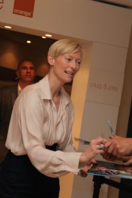 photo 12/29 - Tilda Swinton - Pr�sentation du film We need to talk about Kevin - 12 mai 2011 - We Need to Talk About Kevin - © Isabelle Vautier pour CommeAuCinema - Cannes 2011