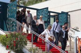 photo 16/29 - John C. Reilly et Tilda Swinton - Présentation du film We need to talk about Kevin - 12 mai 2011 - We Need to Talk About Kevin - © Isabelle Vautier pour CommeAuCinema - Cannes 2011