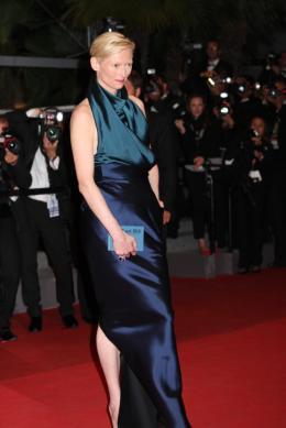 photo 23/29 - Tilda Swinton - Pr�sentation du film We need to talk about Kevin - 12 mai 2011 - We Need to Talk About Kevin - © Isabelle Vautier pour CommeAuCinema - Cannes 2011