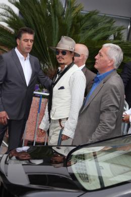 photo 74/140 - Johnny Depp - Conférence de presse Pirates des Caraibes 4 - Pirates des Caraïbes : La fontaine de Jouvence - © Isabelle Vautier pour CommeAuCinema - Cannes 2011