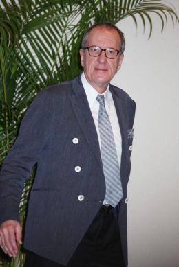 photo 73/140 - Geoffrey Rush - Conférence de presse Pirates des Caraibes 4 - Pirates des Caraïbes : La fontaine de Jouvence - © Isabelle Vautier pour CommeAuCinema - Cannes 2011