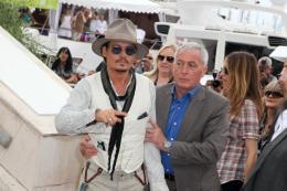 photo 63/140 - Johnny Depp - Conférence de presse Pirates des Caraibes 4 - Pirates des Caraïbes : La fontaine de Jouvence - © Isabelle Vautier pour CommeAuCinema - Cannes 2011