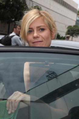 photo 50/143 - Conf�rence de presse du film Polisse - mai 2011 - Marina Fo�s - © Isabelle Vautier pour CommeAuCinema - Cannes 2011