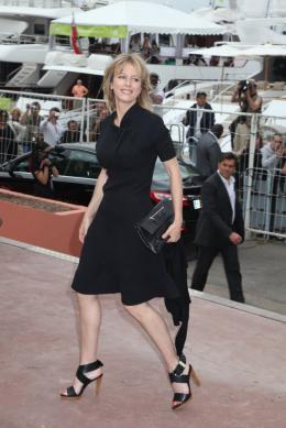 photo 31/92 - Karin Viard - Conférence de presse du film Polisse - mai 2011 - Polisse - © Isabelle Vautier pour CommeAuCinema - Cannes 2011