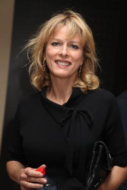 photo 47/92 - Karin Viard - Conférence de presse du film Polisse - mai 2011 - Polisse - © Isabelle Vautier pour CommeAuCinema - Cannes 2011