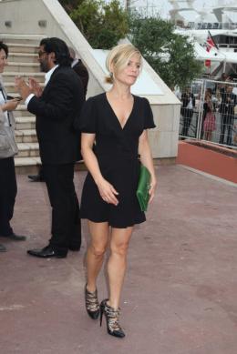 photo 78/168 - Conférence de presse du film Polisse - mai 2011 - Marina Foïs - © Isabelle Vautier pour CommeAuCinema - Cannes 2011
