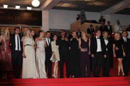 photo 90/92 - L'équipe du film Polisse - Montée des marches du film Polisse - mai 2011 - Polisse - © Isabelle Vautier pour CommeAuCinema - Cannes 2011
