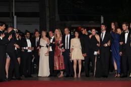 photo 91/92 - L'équipe du film Polisse - Montée des marches du film Polisse - mai 2011 - Polisse - © Isabelle Vautier pour CommeAuCinema - Cannes 2011
