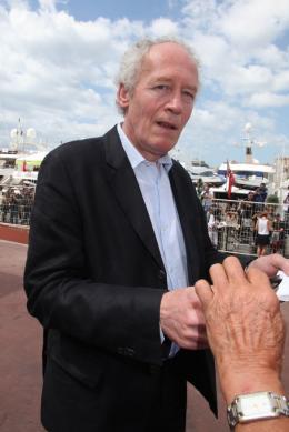 photo 18/33 - Jean-Pierre Dardenne - Journée du 15 mai 2011 sur la Croisette - Le gamin au vélo - © Isabelle Vautier pour CommeAuCinema - Cannes 2011