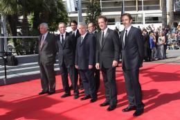 photo 20/22 - L'équipe du film - Montée des marches du film Pater - Mai 2011 - Pater - © Isabelle Vautier pour CommeAuCinema - Cannes 2011