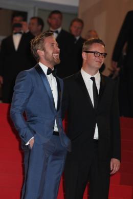 photo 49/51 - Ryan Gosling et Nicolas Winding Refn - Pr�sentation du film Drive - Mai 2011 - Drive - © Isabelle Vautier pour CommeAuCinema - Cannes 2011