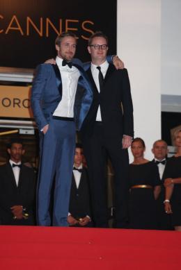 photo 48/51 - Ryan Gosling et Nicolas Winding Refn - Présentation du film Drive - Mai 2011 - Drive - © Isabelle Vautier pour CommeAuCinema - Cannes 2011