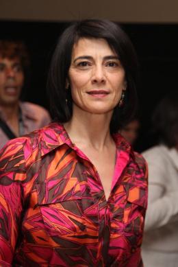 photo 26/97 - Hiam Abbas - Conférence de presse La Source des Femmes - Mai 2011 - La Source des femmes - © Isabelle Vautier pour CommeAuCinema - Cannes 2011