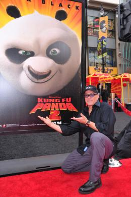 photo 76/80 - Jean-Claude Van Damme - Avant-première de Kung Fu Panda 2 - Kung Fu Panda 2 - © Paramount