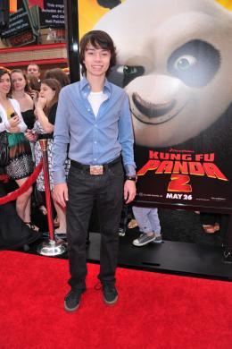 photo 79/80 - Noah Ringer - Avant-première de Kung Fu Panda 2 - Kung Fu Panda 2 - © Paramount