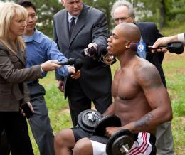 Mehcad Brooks Necessary Roughness photo 3 sur 3