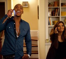 Mehcad Brooks Necessary Roughness photo 2 sur 3