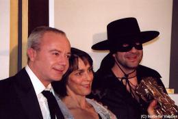 Juliette Welfling Les César 2006 (avec Kad & Olivier) photo 4 sur 4