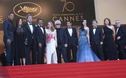 Agnès Jaoui Cannes 2017 Clôture Tapis photo 3 sur 62