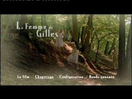 photo 10/11 - Menu dvd - La femme de Gilles