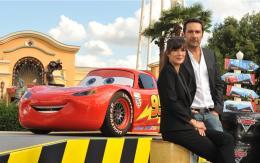photo 115/122 - Mélanie Doutey et Gilles Lellouche - Avant-première du film - Cars 2 - © Walt Disney Studios Motion Pictures France