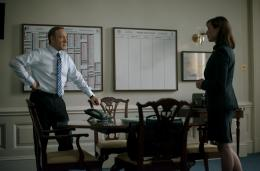 photo 34/55 - Kevin Spacey, Molly Parker - House of Cards - Saison 2 - © Netflix