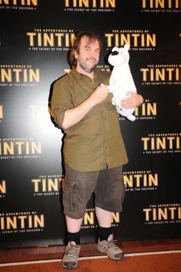 photo 39/58 - Peter Jackson - Photocall Tintin, Juillet 2011 - Les Aventures de Tintin : Le Secret de la Licorne - © Sony Pictures
