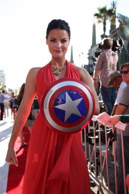 photo 58/65 - Jaimie Alexander - Avant-première de Captain America - Captain America : First Avenger - © Paramount