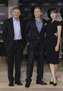 photo 73/83 - Harrison Ford, Daniel Craig, Olivia Wilde - Avant-Premi�re Cowboys & Envahisseurs � Berlin - Cowboys & Envahisseurs - © 2011 Getty Images