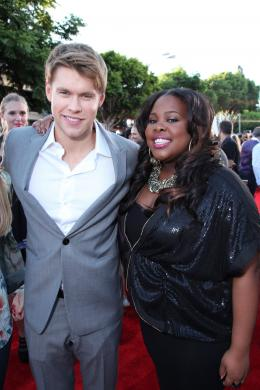 photo 16/23 - Chord Overstreet, Amber Riley - Avant-premi�re du film Glee on Tour 3D - Glee on tour : le film - © 20th Century Fox