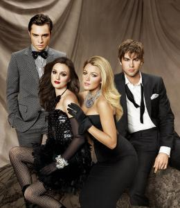 photo 19/38 - Ed Westwick, Leighton Meester, Blake Lively, Chace Crawford - Gossip Girl - Saison 3 - © Warner Home Vidéo