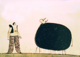 photo 1/1 - La Vache et le fermier
