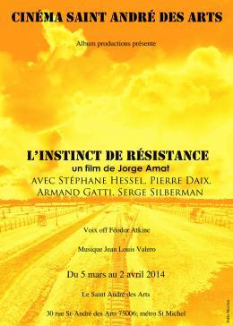 photo 2/2 - L'Instinct de résistance - © Cinéma Saint-André des Arts