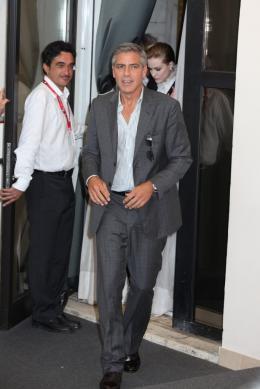 photo 12/69 - George Clooney - Photocall Les Marches du Pouvoir, 31 aout 2011, Venise - Les Marches du pouvoir - © Isabelle Vautier pour Commeaucinema.com