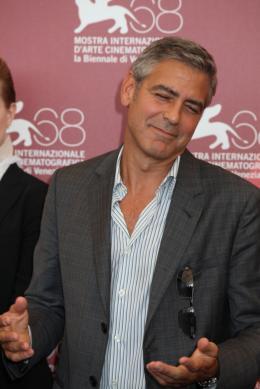 photo 15/69 - George Clooney - Photocall Les Marches du Pouvoir, 31 aout 2011, Venise - Les Marches du pouvoir - © Isabelle Vautier pour Commeaucinema.com