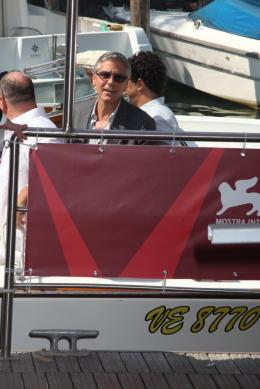 photo 34/69 - George Clooney - Photocall Les Marches du Pouvoir, 31 aout 2011, Venise - Les Marches du pouvoir - © Isabelle Vautier pour Commeaucinema.com