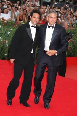 photo 41/69 - Grant Heslov et George Clooney - Tapis rouge du film Les Marches du pouvoir, 31 aout 2011, Venise - Les Marches du pouvoir - © Isabelle Vautier pour Commeaucinema.com