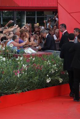photo 37/69 - George Clooney - Tapis rouge du film Les Marches du pouvoir, 31 aout 2011, Venise - Les Marches du pouvoir - © Isabelle Vautier pour Commeaucinema.com