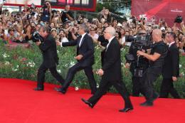 photo 35/69 - George Clooney - Tapis rouge du film Les Marches du pouvoir, 31 aout 2011, Venise - Les Marches du pouvoir - © Isabelle Vautier pour Commeaucinema.com