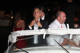photo 67/69 - George Clooney - Diner Les Marches du pouvoir, 31 aout 2011, Venise - Les Marches du pouvoir - © Isabelle Vautier pour Commeaucinema.com